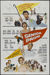 """Senior Prom (Columbia, 1958). One Sheet (27"""" X 41""""). Musical. Directed by David Lowell Rich. Starring Jill Cor..."""