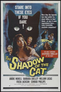"""Movie Posters:Horror, The Shadow of the Cat (Universal International, 1961). One Sheet(27"""" X 41""""). Horror. Directed by John Gilling. Starring And..."""