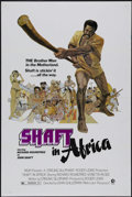 "Movie Posters:Blaxploitation, Shaft in Africa (MGM, 1973). One Sheet (27"" X 41""). Blaxploitation.Directed by John Guillermin. Starring Richard Roundtree,..."