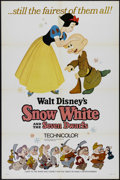 "Movie Posters:Animated, Snow White and the Seven Dwarfs (Buena Vista, R-1967). One Sheet (27"" X 41""). One Sheet (27"" X 41""). Animated Fairy Tale. Di..."