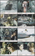 """Movie Posters:Science Fiction, Star Wars (20th Century Fox, 1977). Mini Lobby Card Set of 8 (8"""" X 10""""). Directed by George Lucas. Starring Mark Hamill, Har... (Total: 8 Items)"""