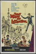 "Movie Posters:Adventure, That Man in Istanbul (Columbia, 1966). One Sheet (27"" X 41"").Comedy. Directed by Antonio Isasi Isasmendi. Starring Horst Bu..."