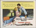 """Movie Posters:Film Noir, Tight Spot (Columbia, 1955). Half Sheet (22"""" X 28""""). Style B. FilmNoir. Directed by Phil Karlson. Starring Ginger Rogers, E..."""