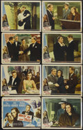 """Movie Posters:Comedy, White Tie and Tails (Universal, 1946). Lobby Card Set of 8 (11"""" X 14""""). Comedy Drama. Directed by Charles Barton. Starring D... (Total: 8 Items)"""