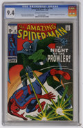 Silver Age (1956-1969):Superhero, The Amazing Spider-Man #78 (Marvel, 1969) CGC NM 9.4 Off-white to white pages. First appearance and origin of the Prowler. J...