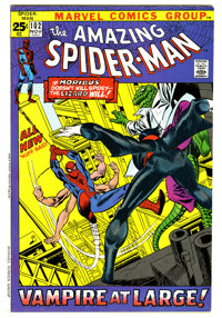 The Amazing Spider-Man #102 (Marvel, 1971) Condition: VF/NM. Origin and second appearance of Morbius. The Lizard also ap...