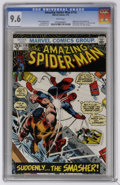 Bronze Age (1970-1979):Superhero, The Amazing Spider-Man #116 (Marvel, 1973) CGC NM+ 9.6 White pages. Adapts story from Spectacular Spider-Man (magazine) ...