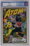 Silver Age (1956-1969):Superhero, The Atom #29 (DC, 1967) CGC VG 4.0 Light tan to off-white pages. Features Earth II Atom vs. the Thinker. First solo Golden A...