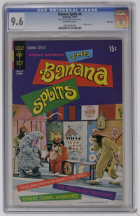 Banana Splits #8 File Copy (Gold Key, 1971) CGC NM+ 9.6 Off-white pages. Photo cover. This copy has the highest CGC grad...