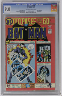 Batman #260 (DC, 1975) CGC VF/NM 9.0 Off-white to white pages. Joker cover and story. 100-page issue. Nick Cardy cover...