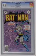 Bronze Age (1970-1979):Superhero, Batman #283 (DC, 1977) CGC NM+ 9.6 Off-white to white pages. Ernie Chua cover and art. Currently tied for highest CGC grade....