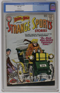 Silver Age (1956-1969):Miscellaneous, The Brave and the Bold #48 Strange Sports Stories (DC, 1963) CGC VG- 3.5 Off-white pages. Carmine Infantino cover and art. O...