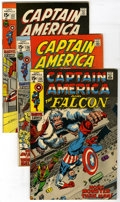 Bronze Age (1970-1979):Superhero, Captain America #135-150 Group (Marvel, 1971-72) Condition: Average VG/FN. Group contains #135, 136, 137, 138 (Spider-Man cr... (Total: 16)