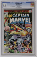 Bronze Age (1970-1979):Superhero, Captain Marvel #47 (Marvel, 1976) CGC NM/MT 9.8 Off-white to white pages. Al Milgrom and Terry Austin art. Overstreet 2006 N...