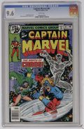 Bronze Age (1970-1979):Superhero, Captain Marvel #61 (Marvel, 1979) CGC NM+ 9.6 White pages. Pat Broderick and Bruce Patterson art. Overstreet 2006 NM- 9.2 va...
