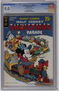 Silver Age (1956-1969):Cartoon Character, Christmas Parade #5 File Copy (Gold Key, 1967) CGC VF/NM 9.0 Off-white to white pages. Overstreet 2006 VF/NM 9.0 value = $72...