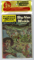 Silver Age (1956-1969):Classics Illustrated, Classics Illustrated Unopened 2-Packs Group of 3 (Gilberton, 1971) Condition: Average VF+. Three unopened two-packs are incl... (Total: 6 Comic Books)