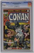 Bronze Age (1970-1979):Miscellaneous, Conan the Barbarian #36 (Marvel, 1974) CGC NM+ 9.6 Off-white towhite pages. John Buscema and Ernie Chua cover and art. Over...