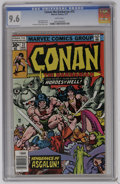 Bronze Age (1970-1979):Superhero, Conan the Barbarian #72 (Marvel, 1977) CGC NM+ 9.6 White pages. Gil Kane and Ernie Chan cover. John Buscema art. Overstreet ...