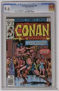Bronze Age (1970-1979):Superhero, Conan the Barbarian #80 (Marvel, 1977) CGC NM+ 9.6 Off-white to white pages. John Buscema and Ernie Chan cover. Howard Chayk...
