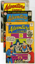 Silver Age (1956-1969):Miscellaneous, DC Silver Age Group (DC, 1960-69) Condition: Average VG/FN.Included here are Adventure Comics #275 (origin of the Super...(Total: 13 Comic Books)