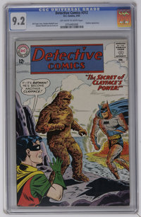 Detective Comics #312 (DC, 1963) CGC NM- 9.2 Off-white to white pages. Clayface appearance. Sheldon Moldoff cover. Moldo...