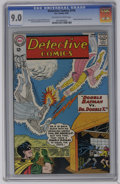 Silver Age (1956-1969):Superhero, Detective Comics #316 (DC, 1963) CGC VF/NM 9.0 Off-white to white pages. Martian Manhunter back-up story. Sheldon Moldoff co...