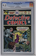 Bronze Age (1970-1979):Superhero, Detective Comics #453 (DC, 1975) CGC NM- 9.2 White pages. Elongated Man backup story. Ernie Chan cover and art. Overstreet 2...