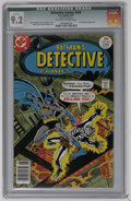 Bronze Age (1970-1979):Superhero, Detective Comics #470 (DC, 1977) CGC Qualified NM- 9.2 Off-white to white pages. Dr. Phosphorus appearance. Jim Aparo cover....