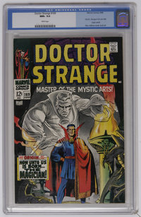 Doctor Strange #169 (Marvel, 1968) CGC NM+ 9.6 White pages. First appearance of Dr. Strange in his own title. Origin ret...