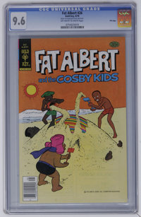 Fat Albert #26 File Copy (Gold Key, 1978) CGC NM+ 9.6 Off-white to white pages. This is the sole highest CGC graded copy...