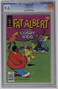 Fat Albert #28 File Copy (Gold Key, 1978) CGC NM+ 9.6 Off-white to white pages. Highest CGC grade for this issue to date...