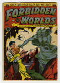 Golden Age (1938-1955):Science Fiction, Forbidden Worlds #1 (ACG, 1951) Condition: GD. Al Williamson/FrankFrazetta art (10 pages). Two-inch spine split at bottom. ...