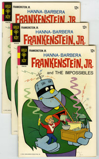 Frankenstein, Jr. #1 Group (Gold Key, 1967) Condition: Average VF. Lot of three copies of Frankenstein Jr. #1 (only issu...