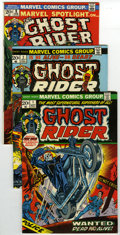 Bronze Age (1970-1979):Superhero, Ghost Rider and Related Titles Group (Marvel, 1973) Condition: Average FN+. This lot of five books features the Ghost Rider ... (Total: 5)