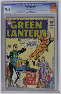 Green Lantern #31 (DC, 1964) CGC NM 9.4 Off-white to white pages. Wedding of Hal's brother James Jordan. Gil Kane and Mu...