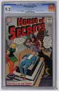 Silver Age (1956-1969):Mystery, House of Secrets #60 (DC, 1963) CGC NM- 9.2 Off-white to whitepages. Full page ad for Metal Men #1. Mort Meskin cover a...