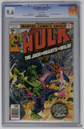 Bronze Age (1970-1979):Superhero, The Incredible Hulk #214 (Marvel, 1977) CGC NM+ 9.6 White pages. Jack of Hearts appearance. Sal Buscema and Ernie Chan art. ...