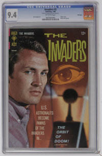The Invaders #2 File Copy (Marvel, 1975) CGC NM 9.4 Off-white pages. Photo cover. Back cover pin-up. Dan Spiegle art. Ov...