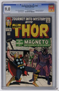 Silver Age (1956-1969):Superhero, Journey Into Mystery #109 (Marvel, 1964) CGC VF/NM 9.0 Off-white to white pages. Magneto and the Brotherhood of Evil Mutants...