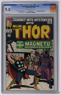 Journey Into Mystery #109 (Marvel, 1964) CGC VF/NM 9.0 Off-white to white pages. Magneto and the Brotherhood of Evil Mut...
