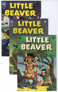Little Beaver - File Copies Group (Dell, 1951-53) Condition: Average NM. Group is comprised of six Little Beaver File Co...