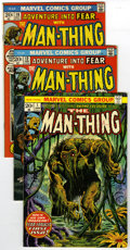 Bronze Age (1970-1979):Horror, Man-Thing and Others Group (Marvel, 1972-74) Condition: Average VG/FN. Group of eighteen comics contains Fear #10 (Man-T... (Total: 18)