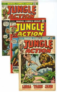 Marvel Bronze Age Superhero Box Group (Marvel, 1970s). This full short box contains mostly adventure titles, including J...