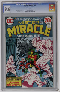 Mister Miracle #14 (DC, 1973) CGC NM+ 9.6 White pages. Jack Kirby and Mike Royer cover and art. Overstreet 2006 NM- 9.2...