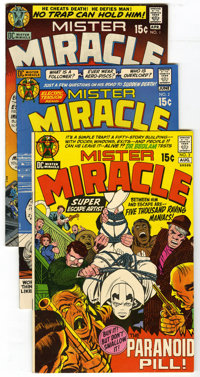 Mister Miracle #1-18 Group (DC, 1971-74) Condition: Average FN/VF. Lot of eighteen comics contains all eighteen Jack Kir...