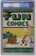 Golden Age (1938-1955):Superhero, More Fun Comics #19 (DC, 1937) CGC GD+ 2.5 Slightly brittle pages. Vincent Sullivan cover. Dr. Occult story by Jerry Siegel....
