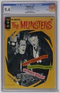 Silver Age (1956-1969):Humor, Munsters #10 File Copy (Gold Key, 1966) CGC NM 9.4 Off-white to white pages. Photo cover. Photo pin-up back cover. Overstree...