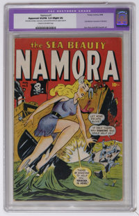 Namora #1 (Timely, 1948) CGC VG/FN Apparent 5.0 Slight (A) Cream to off-white pages. Sub-Mariner crossover. Ken Bald cov...
