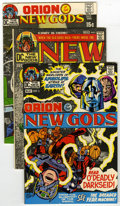 Bronze Age (1970-1979):Superhero, The New Gods #1 through 11 Group (DC,1971-72) Condition: Average FN. This group contains issues #1, 2, 3, 4, 5, 6, 7, 8, 9, ... (Total: 11)